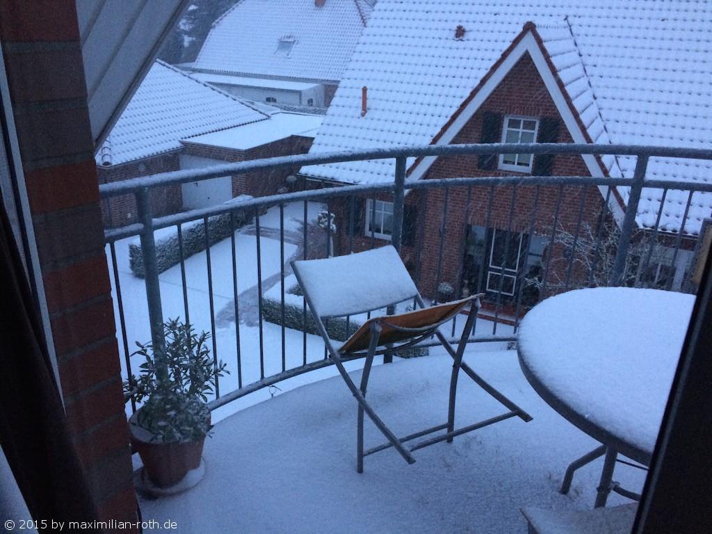 Schnee ... im Januar